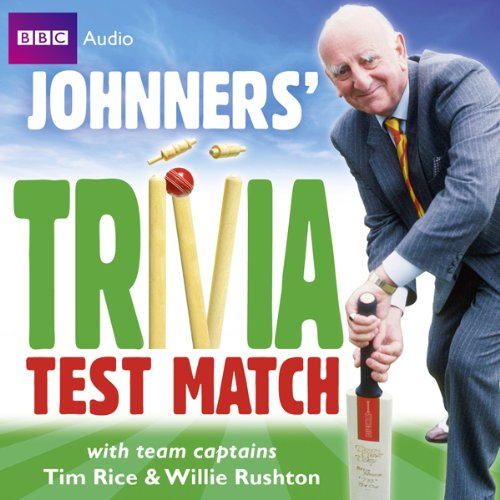 Couverture de Brian Johnston: Johnners' Trivia Test Match