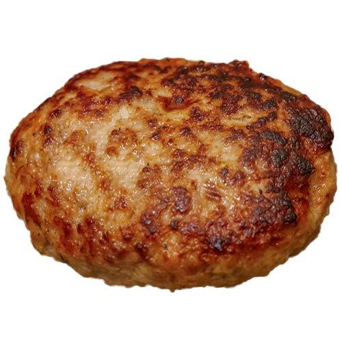 黒毛和牛と深雪餅豚の手ごねハンバーグ 100g×6個入 冷凍 鶴久肉店