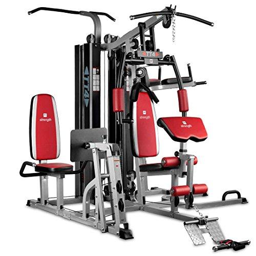 BH Fitness TT-4 G159 multiestación - 4 puestos - más de 15 ejercicios - Uso semipro