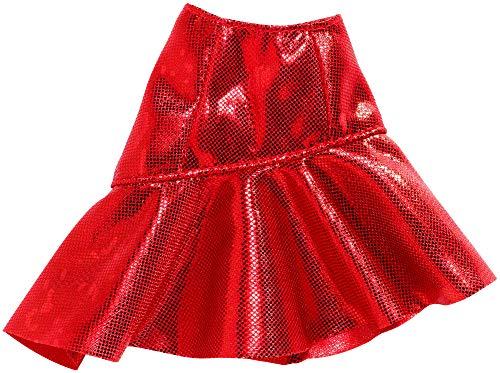 Barbie Mattel Fashion FXH83 - Falda asimétrica voladora roja - nuevo
