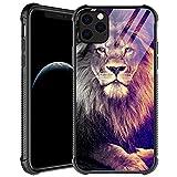 iPhone 11 Pro Max Case,Lion Gaze iPhone 11 Pro Max Cases for Men Boys,Shockproof Anti-Scratch Soft TPU Pattern Design Case for Apple iPhone 11 Pro Max 6.5-inch Lion Gaze