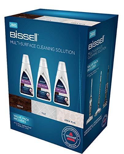 BISSELL Multi Surface Reinigungsmittel Vorteilspack | 3 x 1 L | Für CrossWave, SpinWave und HydroWave | 2885