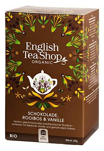 English Tea Shop - Schokolade, Rooibos & Vanille, BIO, 20 Teebeutel - (DE-Version)