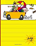 for kids +3: An empty story magazine with space for pictures and writing lines, ideal for kindergarten and early childhood activities