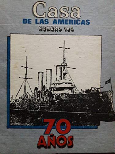 Revista casa de las americas habana cuba septiembre-octubre de 1987 numero 164.70 anos de la revolucion de octubre y la literatura de la URSS