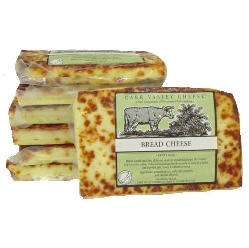 Bread Cheese, Juustoleipa, 10 oz. (2 pack) by Carr Valley Cheese