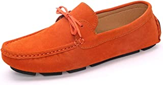 T-JULY Autumn Women Loafers Moccasin Homme Casual Suede Leather Shoes Moccasins Slip On Woman