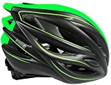 RYMEBIKES Casco Elite - Verde Fluor, S/M 56-58 CM