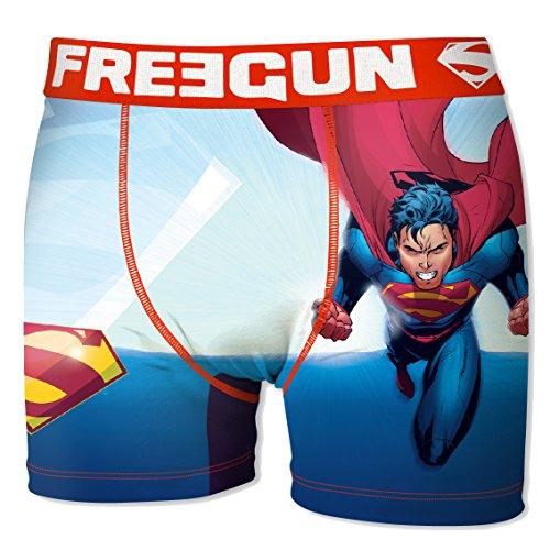 Freegun Herren Boxershorts DC Comics – Sortiment Fotos je nach Verfügbarkeit, Fly Act6, XL