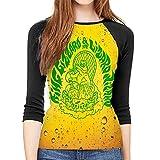 maichengxuan King Gizz-ard and The Liz-ard Wizard Camisetas Mujer Slim Fit Sudaderas Cuello Redondo Jumper Tee Blusas