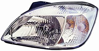 Headlight Headlamp Kia Rio Driver Left Side Lh For 2009 2010 2011 Assembly KI2502142C