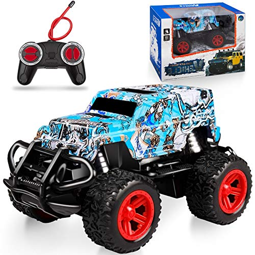 NARRIO Kids Toys for 3 4 5 6 Year Old Boys Birthday Gift, Remote Control Car for Boys 3-5 RC Cars Monster Trucks for Boy Toys Age 4-7, Christmas Teen Gifts for 3-7 Year Old Boys Toddler Toys Age 2-6