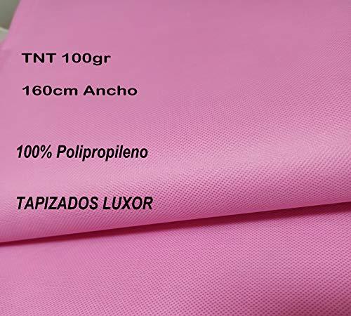 Tejido TST/TNT (Tejido sin tejer) (Tejido para mascarillas) 100% Polipropileno (ROSA)