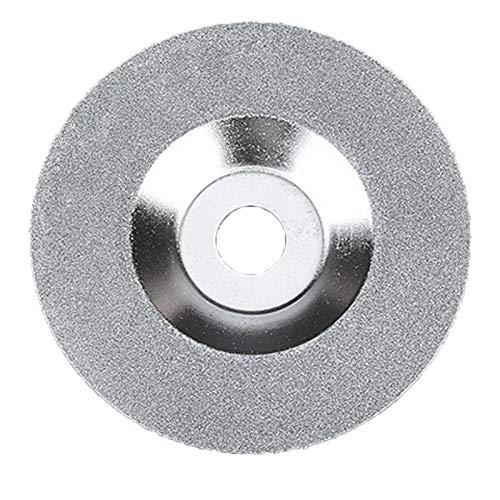 Hoja de sierra de diamante de 4 pulgadas, disco abrasivo de cristal de la cuchilla de corte de cristal Disco de pulido de diamante de la rueda de corte