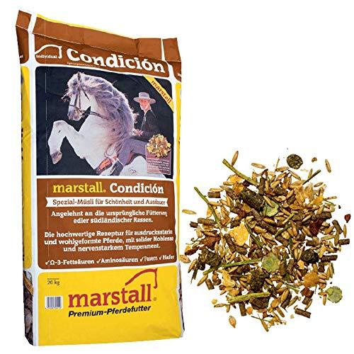 marstall Premium-Pferdefutter Condicion, 1er Pack (1 x 20 kilograms)