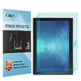 J&D Compatible para 3 Paquetes Lenovo Tab 4 10 Plus Protector de Pantalla, [NO Cobertura Completa] Prima Escudo de Película Transparente HD Protector de Pantalla para Lenovo Tab 4 10 Plus