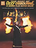 The Best of Ozzy Osbourne: 14 Songs plus Guitar Solos- Crazy Train / Goodbye to Romance / Iron Man / Paranoid