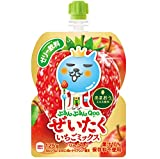 コカ・コーラ ミニッツメイド ぷるんぷるんQoo ぜいたくいちごミックス 125g パウチ ×30袋