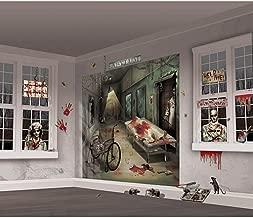 Asylum Scene Setters | Mega Value | Halloween Wall Decorating Kit