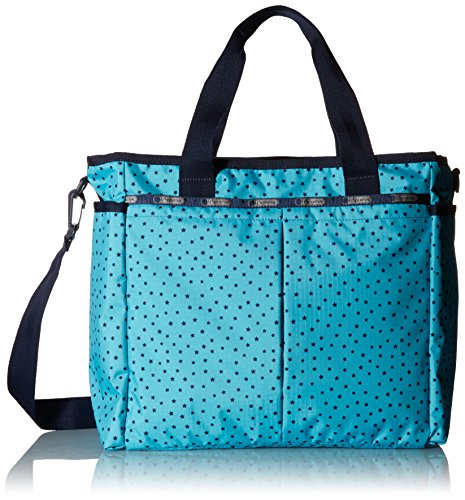 LeSportsac Women's Ryan Diaper Bag Carry On, Baby Skies, One Size