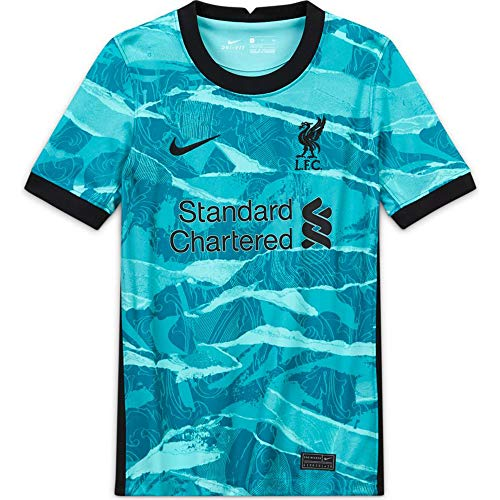 Nike Liverpool FC Youth Away Stadium Soccer Jersey- 2020/21 (Youth Medium)