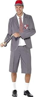 Mens Naughty School Boy Schoolboy Uniform Stag Do Geek Nerd Fancy Dress Costume Outfit M-L