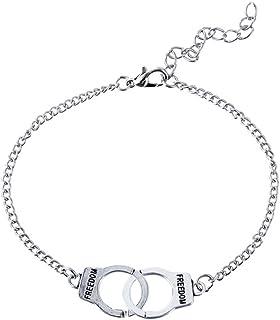 2pcs esposas pulsera tobillera ajustable cadena de pie de playa para mujeres hombres parejas amigos