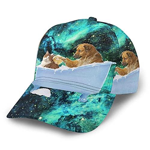 LAOLUCKY Snapback Sombreros de borde curvo Hip Hop Gorra de béisbol ajustable para niños y niñas