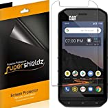 (6 Pack) Supershieldz Designed for Cat S48c Screen Protector, High Definition Clear Shield (PET)