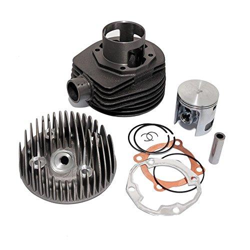 Zylinderkit Sport Malossi 139 CCM MKII für Vespa P80X / PX 80 E - Ø 61,0mm, Grauguss, 7 ÜS, Standard Hub, inkl. Kopf