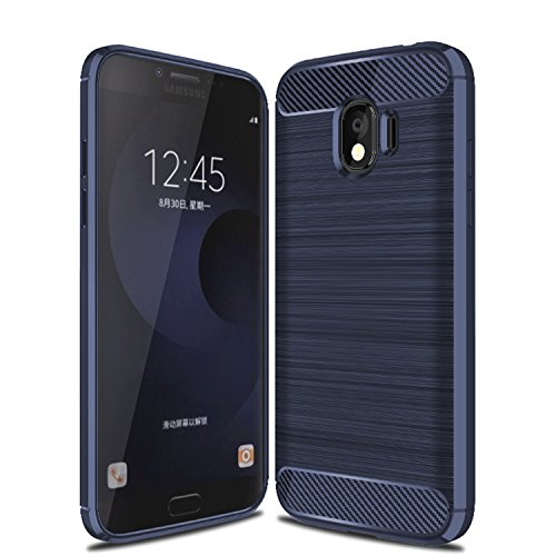 Suensan Galaxy J2 Pro 2018 Case, Galaxy Grand Prime Pro Case TPU Shock Absorption Technology Raised Bezels Protective Case Cover for Samsung Galaxy J2 Pro 2018
