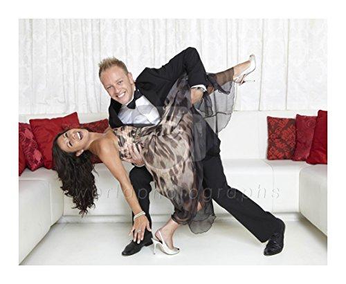 Dansen op IJs (TV) Hayley Tamaddon, Daniel Whiston 10x8 foto