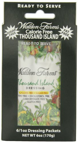 Salad Dressing 6 single serve packets Salsa Mille Isole