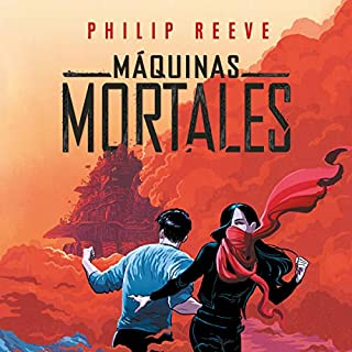 Máquinas mortales [Mortal Engines] audiobook cover art