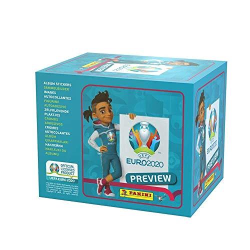 UEFA EP20STP Euro 2020 Vorschau Sticker Collection Packs, x60