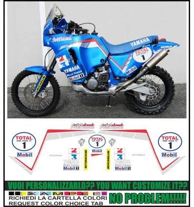 Emanuel & Co XT 750 Z Super Tenis Replica Peterhansel Paris Dakar 1993: Amazon.es: Coche y moto