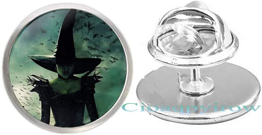 low-pricing Wizard Brooch,Witch Accessories Halloween Gift Christmas favorite
