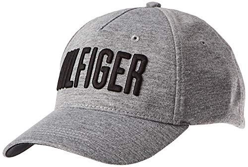 Tommy Hilfiger Herren Hilfiger Print Baseball Cap, Grau (Grey Mix 903), One Size (Herstellergröße: OS)