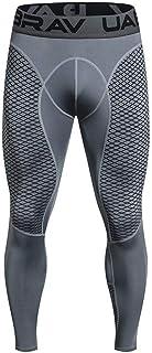 Zerototens Mens Compression Leggings Quick-Drying Training Tights Workout Running Pants Long Base Layer Bottom Sport Leggi...