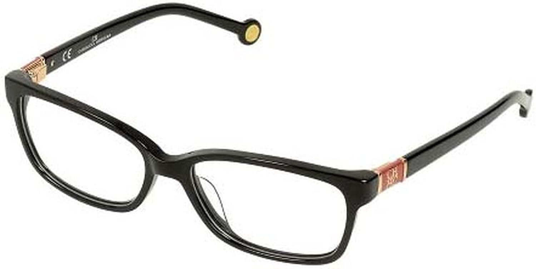 Carolina Herrera Glasses Women VHE591 54700X Black Full Frame