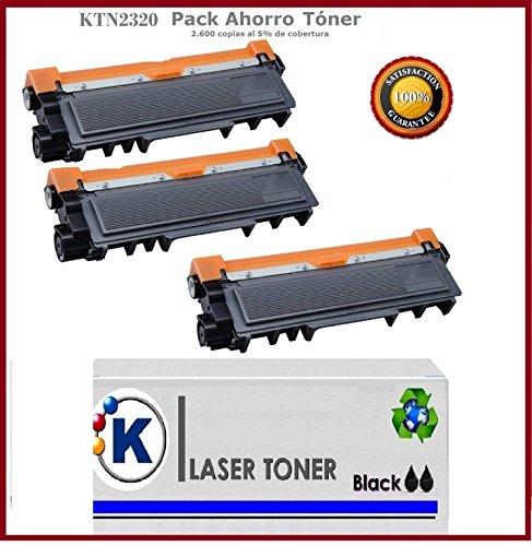 Pack 3 Unidades KTN-2320 Toner Compatible - Reemplaza TN-232