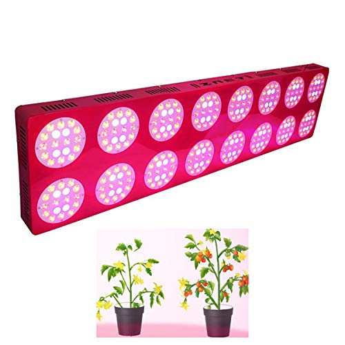 Colorful life LED Plant Growth Light Continuous Full Spectrum Greenhouse Indoor Tent Planting Growth Supplement Light for Seedling Growth, 1200X300x70mm