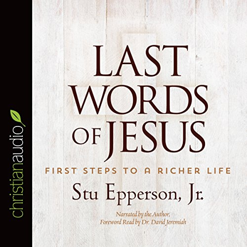 Last Words of Jesus audiobook cover art