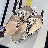 Ririhong Zapatillas para Hombre, Interior, hogar, Verano, Playa, toboganes al Aire Libre, Zapatillas para Mujer, Zapatos con Plataforma, Mulas, Zapatos Planos para Mujer, Espiga_45