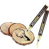 Marqueur de Pyrogravure Stylo Brûlant en Bois pour Peinture sur Bois Bricolage, Outil Remplacer Le Fer à Bois, Facile et Sûr (1 Pièce)