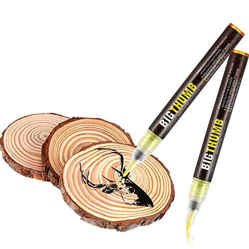 Pyrographie Marker Holz Brennender Stift für DIY Holz Malerei, Ersetzen des Holz Brennendes Eisen Werkzeug, Einfach und Sicher