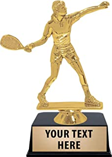 Crown Awards Racquetball Trophies with Custom Engraving, 6