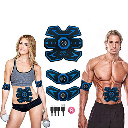 MOORAY SPORT Abs Stimulator Abs Trainer Abdominal Trainer Ultimate Abs Trainer Ab Trainer Men Women Work Out Ads Power Abs Training Gear Workout Equipment Portable Trainer Abs Belt