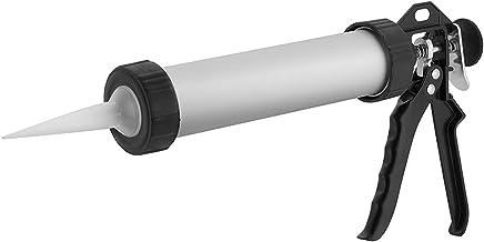 Pistola Aplicadora de Mastique Profissional Worker Vermelho
