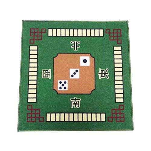 YCAZSH tafelkleed Mahjong tafelkleed Vierkant anti-slip Mahjong deken Poker tafelkleed Nylon tafelkleed Mute antislip
